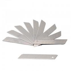 Set 10 lame cutter segmentate de tip L 18 mm, uz profesional