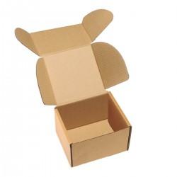 Cutie cu autoformare 85x60x75 mm, carton natur microondul E, FEFCO 0427