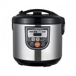 Multicooker 11 functii, panou smart digital, 860W, temporizator, cuva 5l, inox