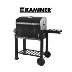 Gratar mobil carbune BBQ Grill, 2 rafturi, control temperatura, Kaminer