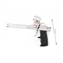 Pistol pentru aplicat spuma, flux spuma reglabil, actionare manuala
