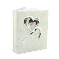 Album foto de nunta personalizabil inimioara