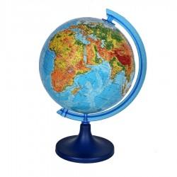 Glob pamantesc cartografie in limba engleza, harta fizica, diametru 25 cm