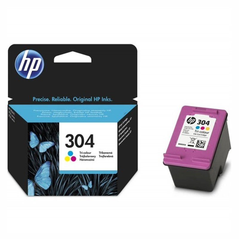 Cartus HP 304 Original N9K05AE Color