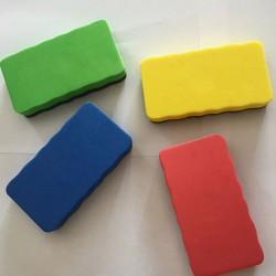 Burete magnetic pentru Whiteboard, stergere usoara, colorat, Boho