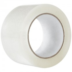 Banda adeziva transparenta, pe baza de solvent, rola 48mmx60m, ambalare