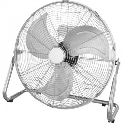 Ventilator de birou, putere 79W, 3 trepte viteza, picioare anti-alunecare, argintiu