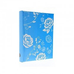 Album foto Floral, capacitate 300 fotografii, poze 10x15, slip-in, spatiu notite