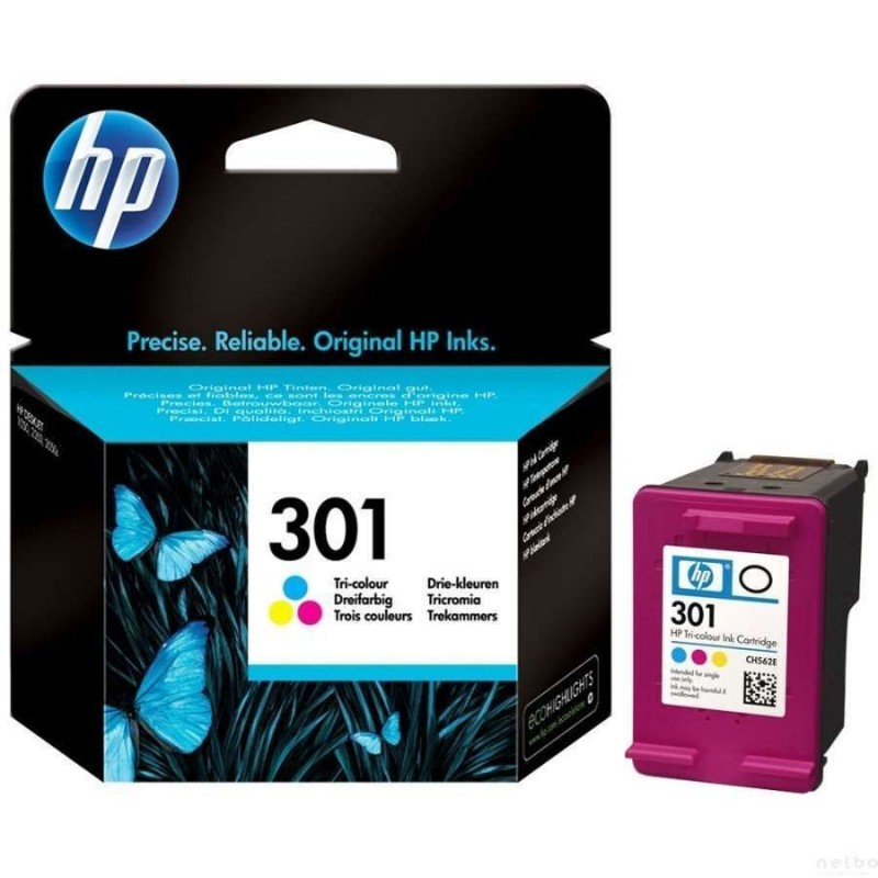 Cartus original HP301 Color HP 301 C562EE