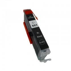 Cartus compatibil CLI-551XL Black pentru Canon, 12 ml