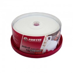 DVD+R Double Layer printabil, capacitate 8.5GB, 8x, cake box 25 bucati