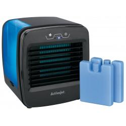 Racitor aer portabil, umidificare, purificare, 3 viteze, putere 6W, rezervor 0.6l, filtru anti-bacterian si anti-miros, de birou