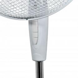 Ventilator de podea 40W, 3 trepte viteza, miscare oscilatorie, diametru 40cm, alb