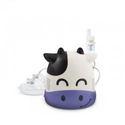 Aparat de aerosoli inhalator cu compresor pentru copii si adulti, forma Vacuta, Resigilat