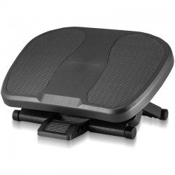 Suport pentru picioare, unghi inclinare 30 grade, design ergonomic, inaltime reglabila, suprafata antiderapanta