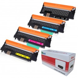 Cartus toner compatibil HP 117A Black / Cyan / Magenta / Yellow, cu chip