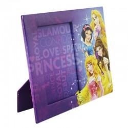 Rama foto pentru fetite cu imprimeu Disney Princess, 10x15 cm