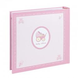 Album foto personalizabil, 200 poze, 10x15, roz, Resigilat