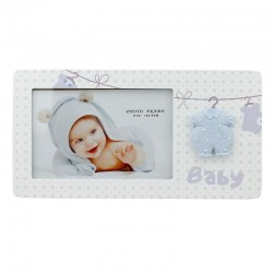 Rama foto 15x10, lemn, special conceputa pentru bebelusi, Resigilata