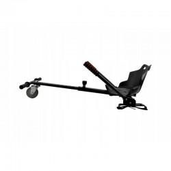 Hoverkart cart cu scaun pentru Hoverboard, lungime reglabila, sarcina maxima 130 kg