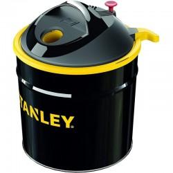 Aspirator pentru cenusa 900W, recipient 20l, filtru HEPA si antiincendiu, design compact, Stanley