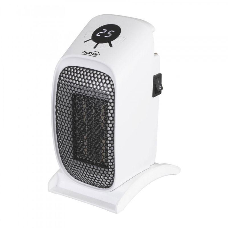 Radiator ceramic cu termostat, 400W , portabil, ecran LCD
