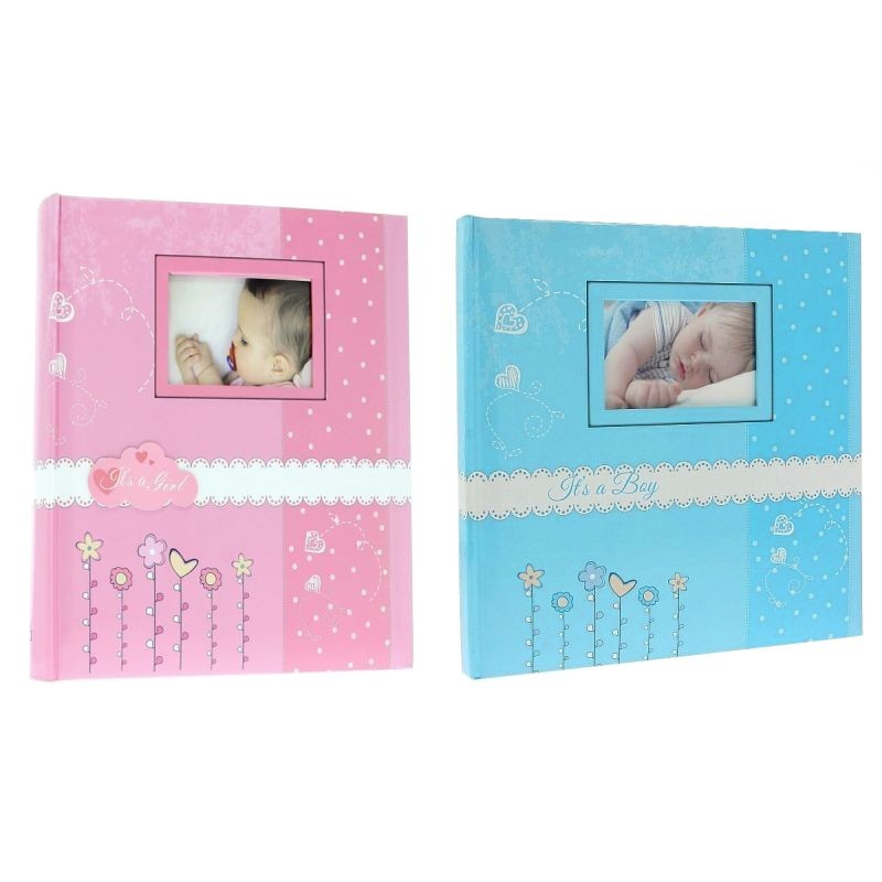 Album foto Bambini personalizabil, poze autoadezive, 100 pagini 29x32cm, copii