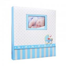 Album foto Baby Buggy personalizabil, coperta cartonata, 100 pagini, poze autoadezive