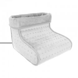 Incalzitor pentru picioare cu masaj, controler, termostat, 2 trepte incalzire, 30x24x30cm, interior imblanit
