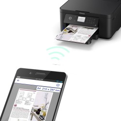 "Multifunctionala inkjet Epson Expression Home XP-5100, Wi-Fi, A4, LCD 2.4"", duplex automat"