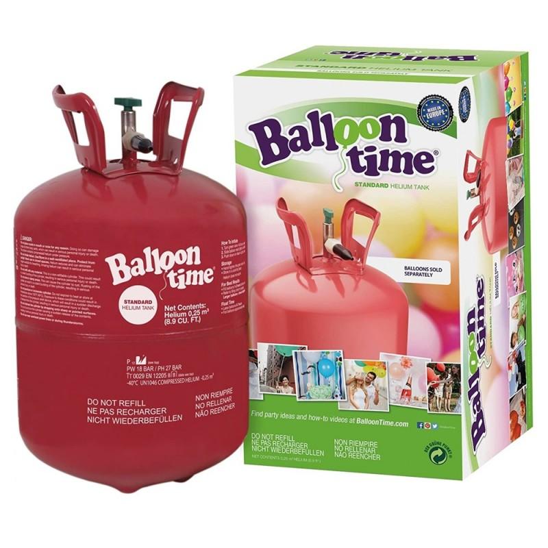 Butelie cu heliu, cantitate 12.1 L, pentru baloane, presiune 18 bar, maxim 50 baloane