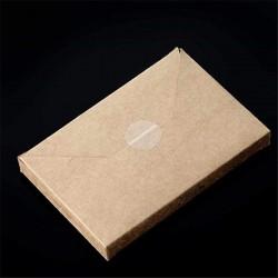 Etichete sigilare autoadezive transparente, adeziv permanent, diametru 20 mm, 5445 etichete/ rola