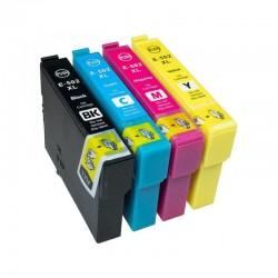 Cartus inkjet compatibil pentru Epson 502XL, BK/C/Y/M, capacitate mare