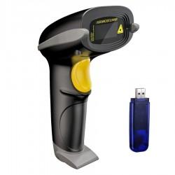 Cititor cod bare 2D wireless 2.4G, USB, ARM 32-bit Cortex, 433 Mhz, stocare inventar