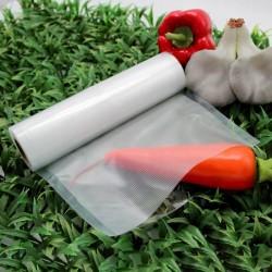 Folie pentru vidat alimente, rola 28x600 cm, transparenta, uz casnic si comercial