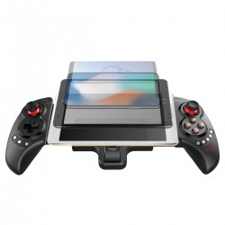 Controller Bluetooth telescopic, Android, iOS, Windows, USB, butoane multimedia
