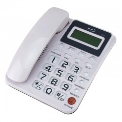 Telefon fix, caller ID, sistem dual FSK/DTMF, calculator, calendar, memorie, Resigilat