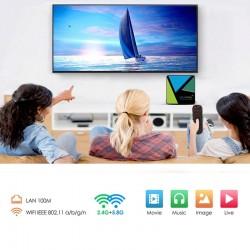 Mini PC Quad Core 64 bit, 4 GB RAM, 32 GB, 5G, USB, TV box 4K, Android 10, Bluetooth, HDMI