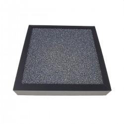 Filtru de rezerva purificator aer EHP001, structura 3 in 1, HEPA, carbon, 15.5x15.5x2.5 cm