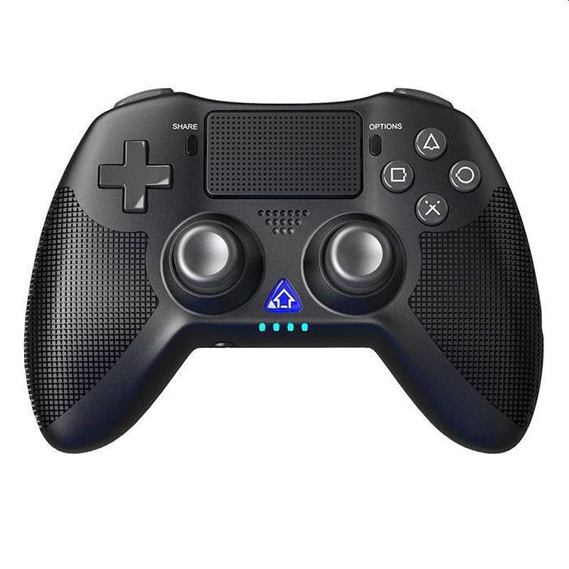 Gamepad Bluetooth, cu touchpad, reincarcabil USB, difuzor, vibratii, Jack 3.5 mm, iPega