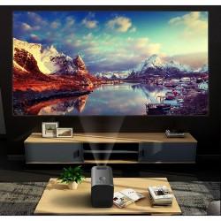Videoproiector LED 3000 Lumeni, HD, HDMI, USB, difuzor Bluetooth, telecomanda