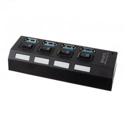 Hub 4 porturi USB 3.0,...