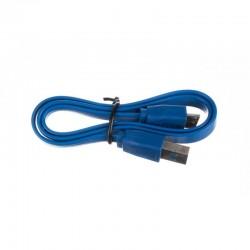 Hub 4 porturi USB 3.0, 5GB/s, protectie supraincalzire, cablu 46 cm, LED