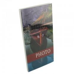 Album foto Barca, stocare 96 poze 10x15, 16 file legate tip carte, personalizabil