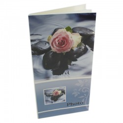 Album foto Trandafir, personalizabil, capacitate 96 fotografii, poze 10x15