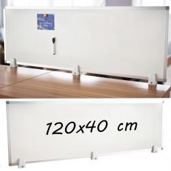 Tabla magnetica alba 40x120...