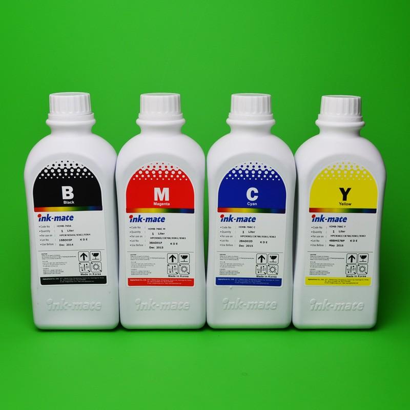 Cerneala Pentru Cartuse Reincarcabile Hp In 4 Culori Cantitate: 1000 Ml
