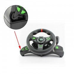 Volan si pedale Gaming,PC PS3, NITRO, maneta, USB, vibratii, Resigilat