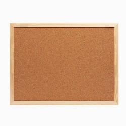 Panou din pluta, rama lemn, 40x60 cm, documente, notite, mesaje