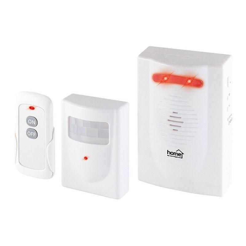 Senzor de acces wireless, 120 m, alarma, cu telecomanda, interior/exterior, IP44